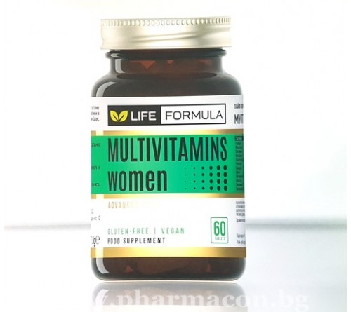 Лайф Формула Мултивитамини Жени 60к