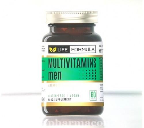 Лайф Формула Мултивитамини Мъже 60к