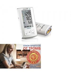 Автоматичен Апарат за измерване на кръвно налягане Microlife BP А6 Plus