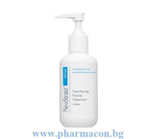 НеоСтрата Антибактериален Почистващ Гел за Мазна Кожа 4%PHA/AHA 200мл / Clarifyng Facial Cleancer