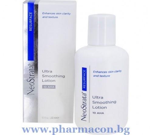 НеоСтрата Лека Изглеждаща Хидратираща Емулсия за Лице и Тяло 10% AHA 200мл / Ultra Smoothing Lotion