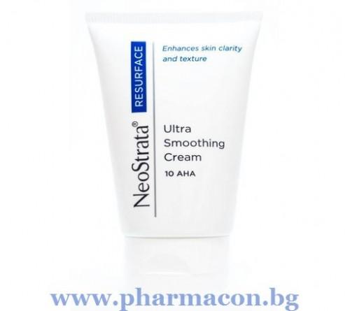 НеоСтрата Овлажняващ и Изглаждащ Лек Нощен Крем с 10% AHA 40мл / Ultra Smoothing Cream 10% AHA